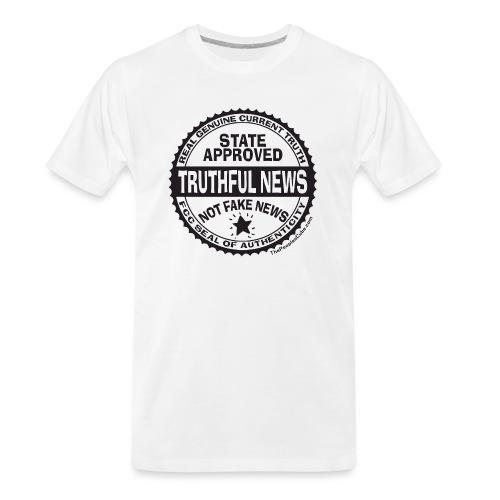 Truthful News FCC Seal - Men's Premium Organic T-Shirt