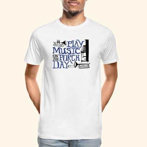 Horns - Men's Premium Organic T-Shirt