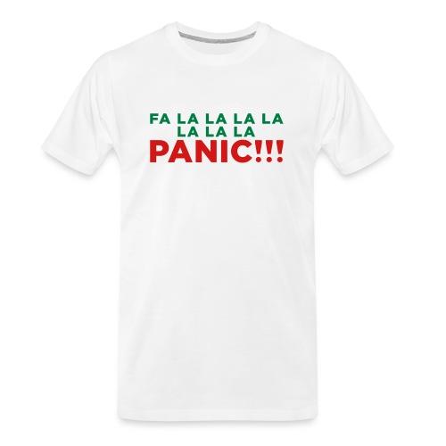Anxiety Christmas - Men's Premium Organic T-Shirt