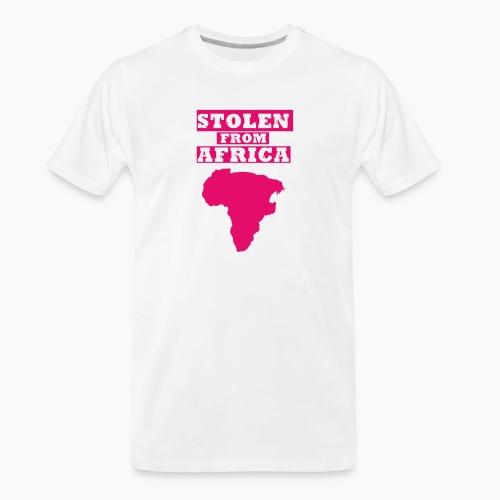 SFA LOGO FUSCHIA - Men's Premium Organic T-Shirt
