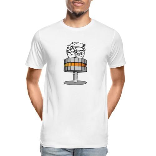 World time clock Berlin - Men's Premium Organic T-Shirt