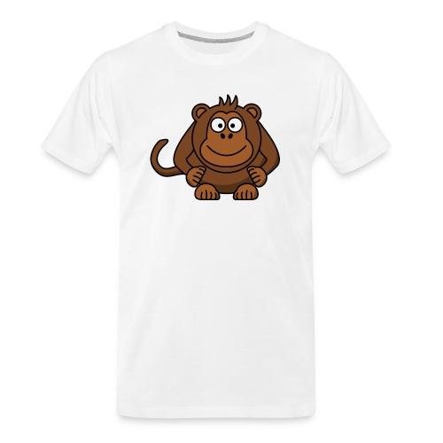 Funny Monkey - Men's Premium Organic T-Shirt