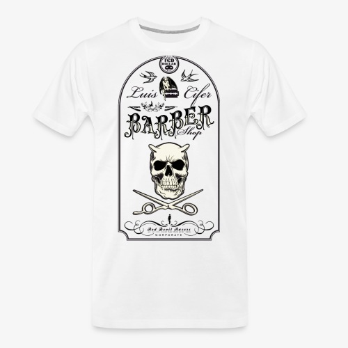 Luis Cifer Barbershop - Men's Premium Organic T-Shirt