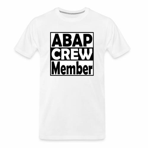 ABAPcrew - Men's Premium Organic T-Shirt