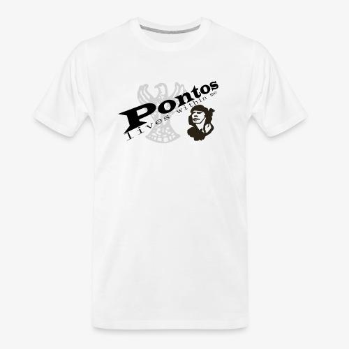 Pontos lives within me. - Men's Premium Organic T-Shirt