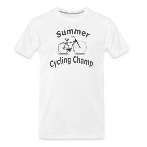 Summer Cycling Champ - Men's Premium Organic T-Shirt