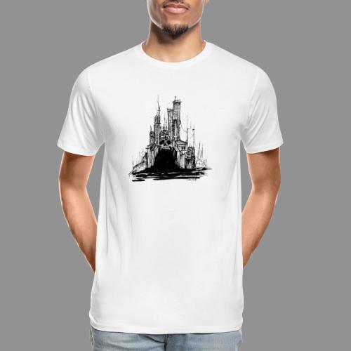 Wolfman Originals Black & White 20 - Men's Premium Organic T-Shirt