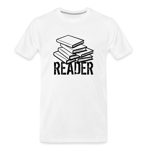 reader - Men's Premium Organic T-Shirt