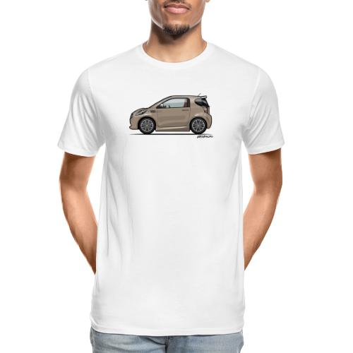 AM Cygnet Blonde Metallic Micro Car - Men's Premium Organic T-Shirt