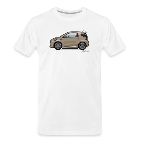 AM Cygnet Blonde Metallic Micro Car - Men's Premium Organic T-Shirt
