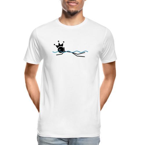 Winky Swimming King - Men's Premium Organic T-Shirt