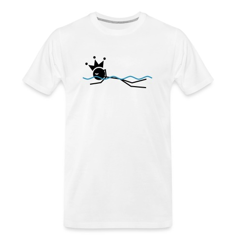 Winky Swimming King - Men's Premium Organic T-Shirt
