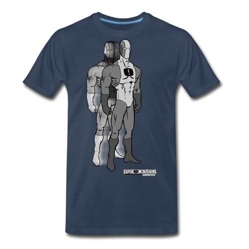 Superhero 9 - Men's Premium Organic T-Shirt