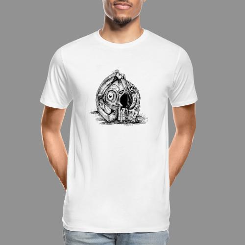 Wolfman Originals Black & White 14 - Men's Premium Organic T-Shirt