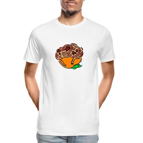 Bolognese Spaghetti - Men's Premium Organic T-Shirt