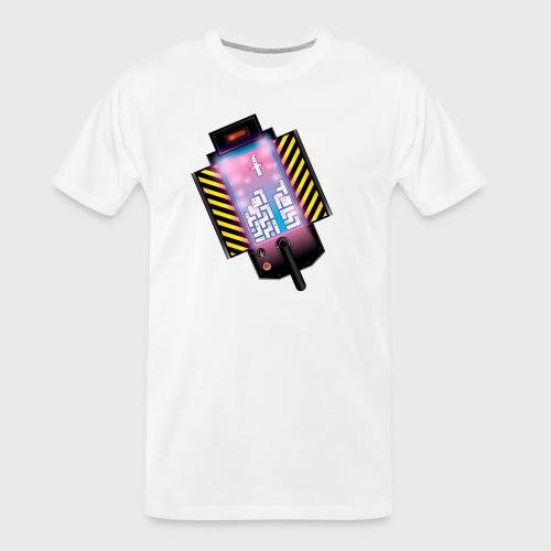 Ghostbusters Tetris Fair Use Mashup - Men's Premium Organic T-Shirt