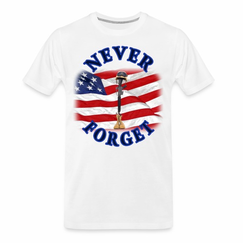 Never Forget - Men's Premium Organic T-Shirt