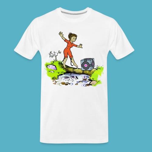 Testing Everywhere! - Men's Premium Organic T-Shirt