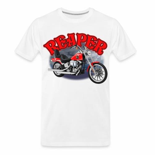 Motorcycle Reaper - Men's Premium Organic T-Shirt
