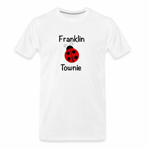Franklin Townie Ladybug - Men's Premium Organic T-Shirt