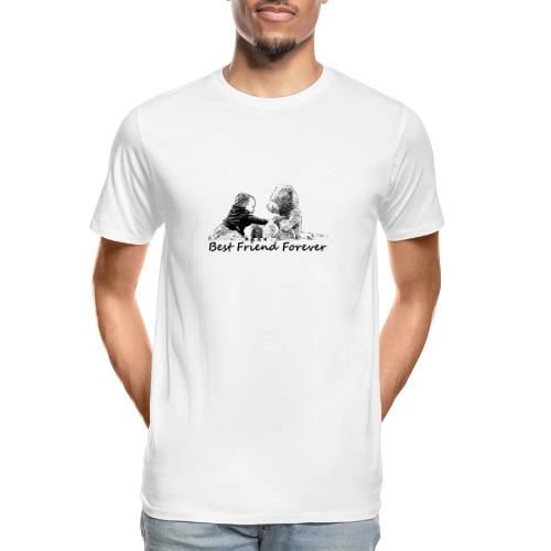 Best Friend Forever (boy) - Men's Premium Organic T-Shirt