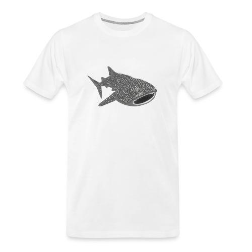 save the whale shark sharks fish dive diver diving - Men's Premium Organic T-Shirt