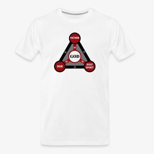 Holy Trinity One God - Men's Premium Organic T-Shirt