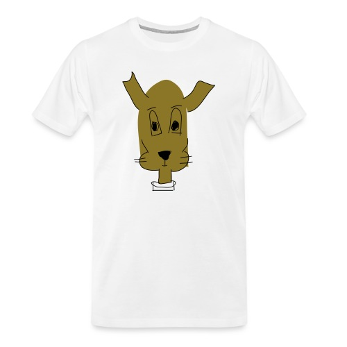 ralph the dog - Men's Premium Organic T-Shirt