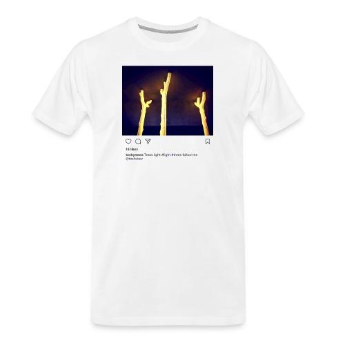 TREE LIGHT - Men's Premium Organic T-Shirt
