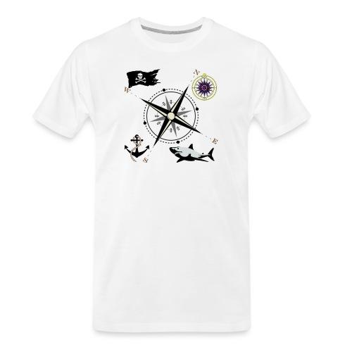 Nautical Designs - Men's Premium Organic T-Shirt