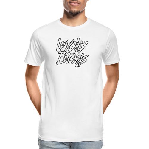 Loyalty Boards Black Font - Men's Premium Organic T-Shirt