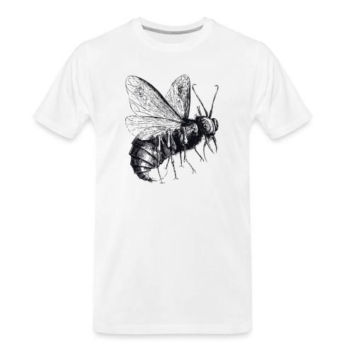Mechanical Demon Bee - Men's Premium Organic T-Shirt