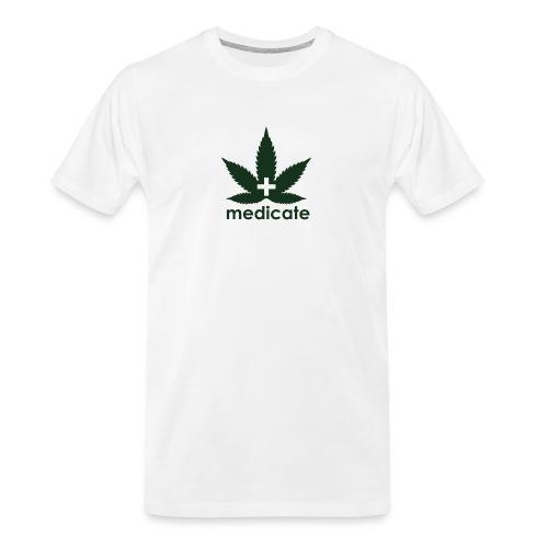 Medicate Supporter - Men's Premium Organic T-Shirt