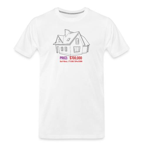 Fannie & Freddie Joke - Men's Premium Organic T-Shirt