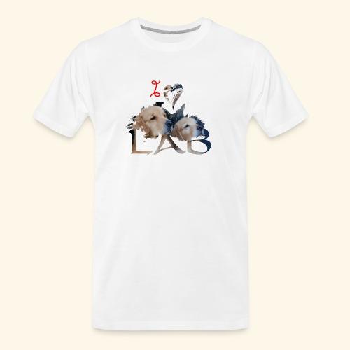 I love Lab - Men's Premium Organic T-Shirt