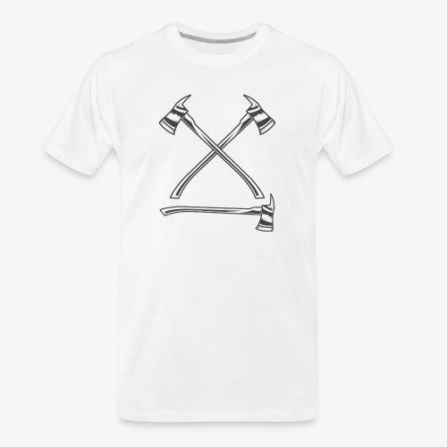 fire 5 - Men's Premium Organic T-Shirt
