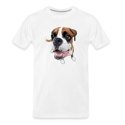 Boxer Rex the dog - Men's Premium Organic T-Shirt