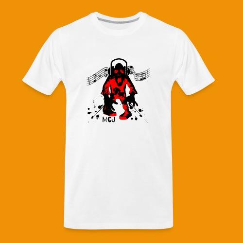 Music Zombie - Men's Premium Organic T-Shirt