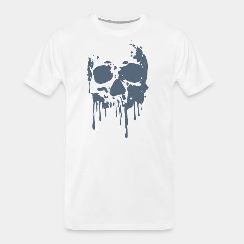 skull blood - Men's Premium Organic T-Shirt