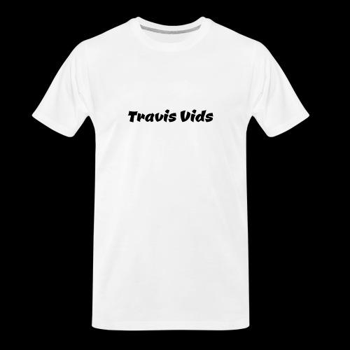White shirt - Men's Premium Organic T-Shirt