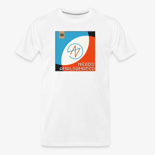 Top Shelf Nerds Cover - Men's Premium Organic T-Shirt