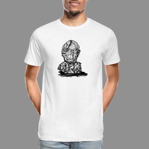 Wolfman Originals Black & White 21 - Men's Premium Organic T-Shirt
