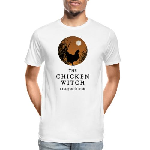 backyard folktale orange - Men's Premium Organic T-Shirt