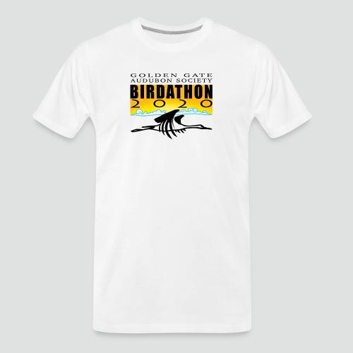 Birdathon2020 Logo - Men's Premium Organic T-Shirt