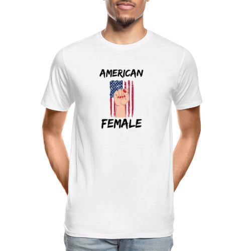 AMERICAN FEMALE - Men's Premium Organic T-Shirt