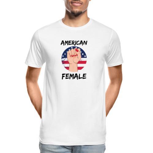 American Fimale apparel - Men's Premium Organic T-Shirt