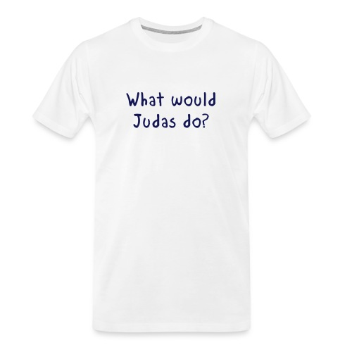 WWJD - Men's Premium Organic T-Shirt