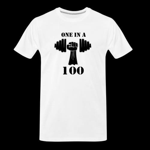 OneInA100 - Men's Premium Organic T-Shirt