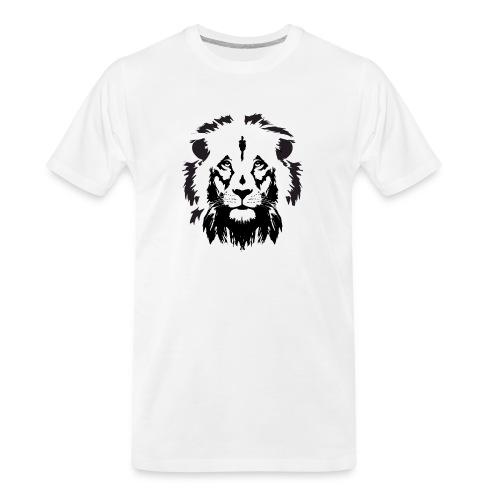 Lion head - Men's Premium Organic T-Shirt