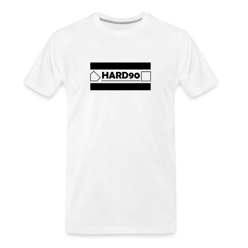 Hard 90 Logo - Men's Premium Organic T-Shirt